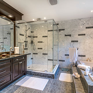 Lake Cushman Bathroom gallery