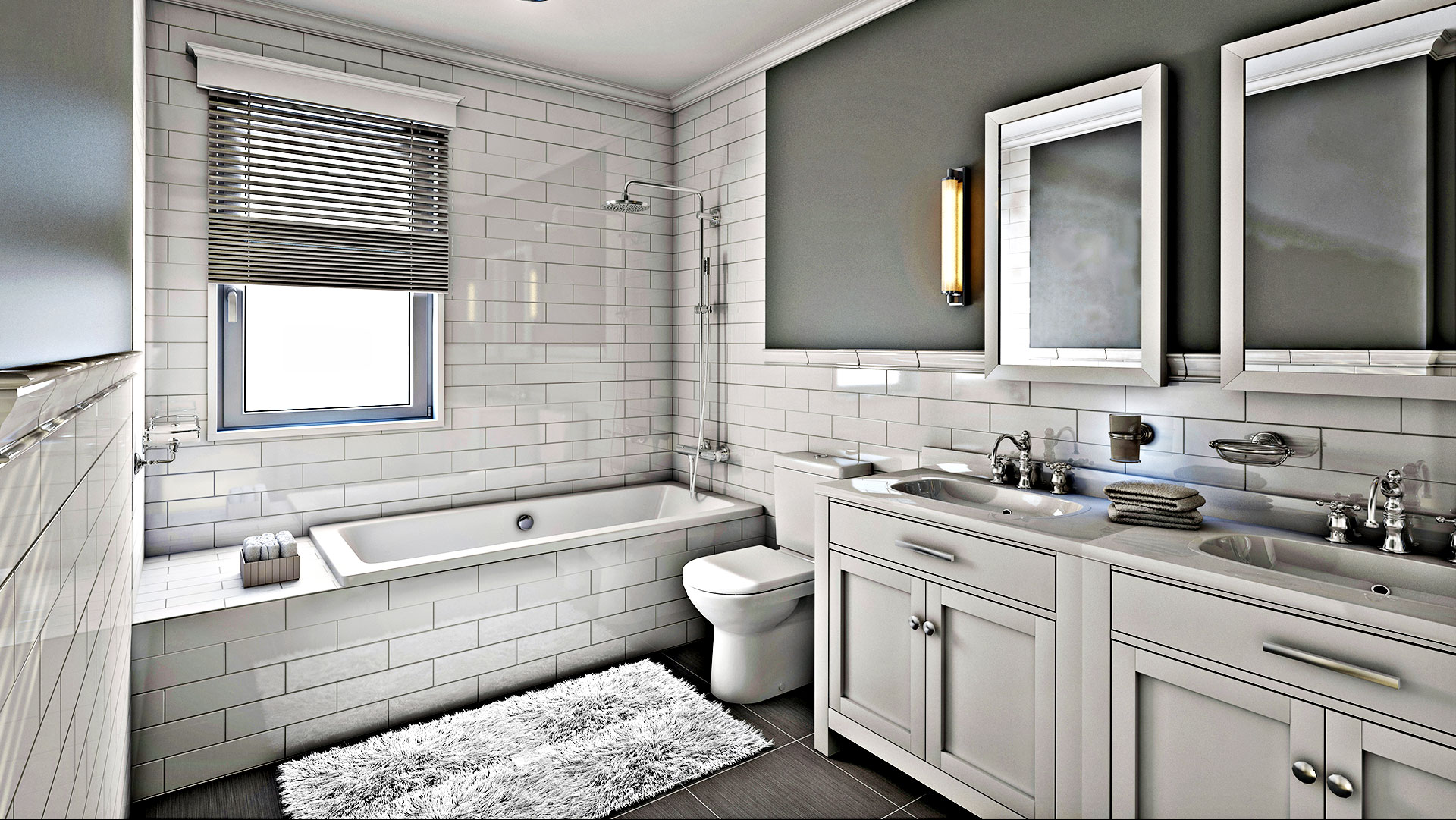Integrated NW Construction LLC Remodeled Bathroom
